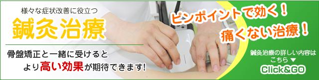まつもと鍼灸整骨院の鍼灸治療